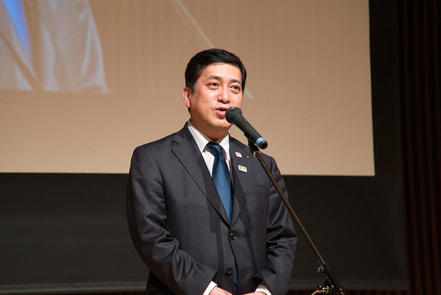 塩田知事 閉会のあいさつ