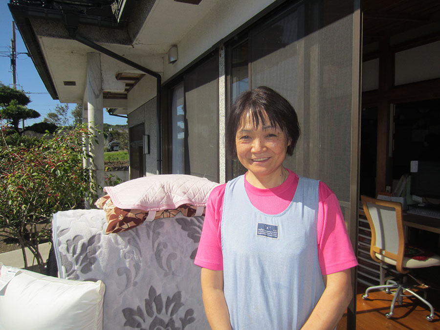 鹿児島で2番目となるホームホスピスづくりを準備中の 山下初枝さん