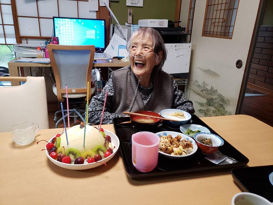 93歳の誕生日