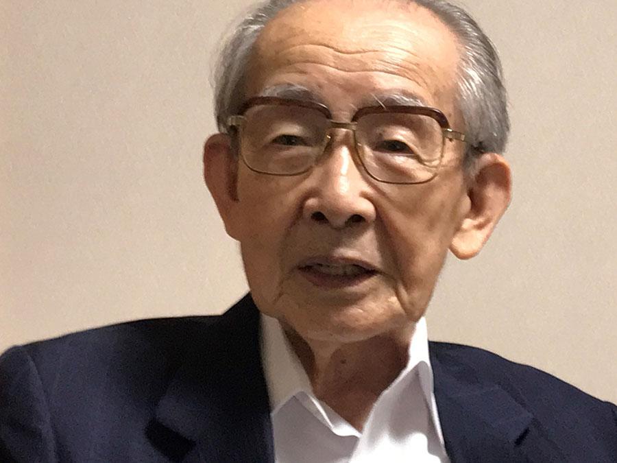 海江田順三郎さん(93)